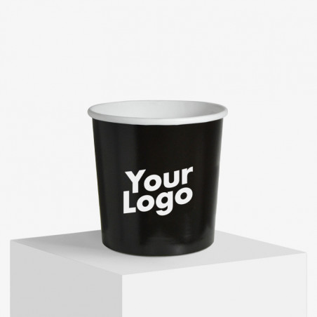 Logo printed ice cream cups without lids