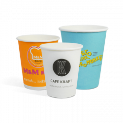 Batch single wall paper cups