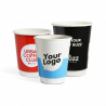 Batch double wall paper cups