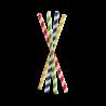 Large selection of jumbo paper straws