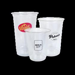 4 colour printed plastic cups