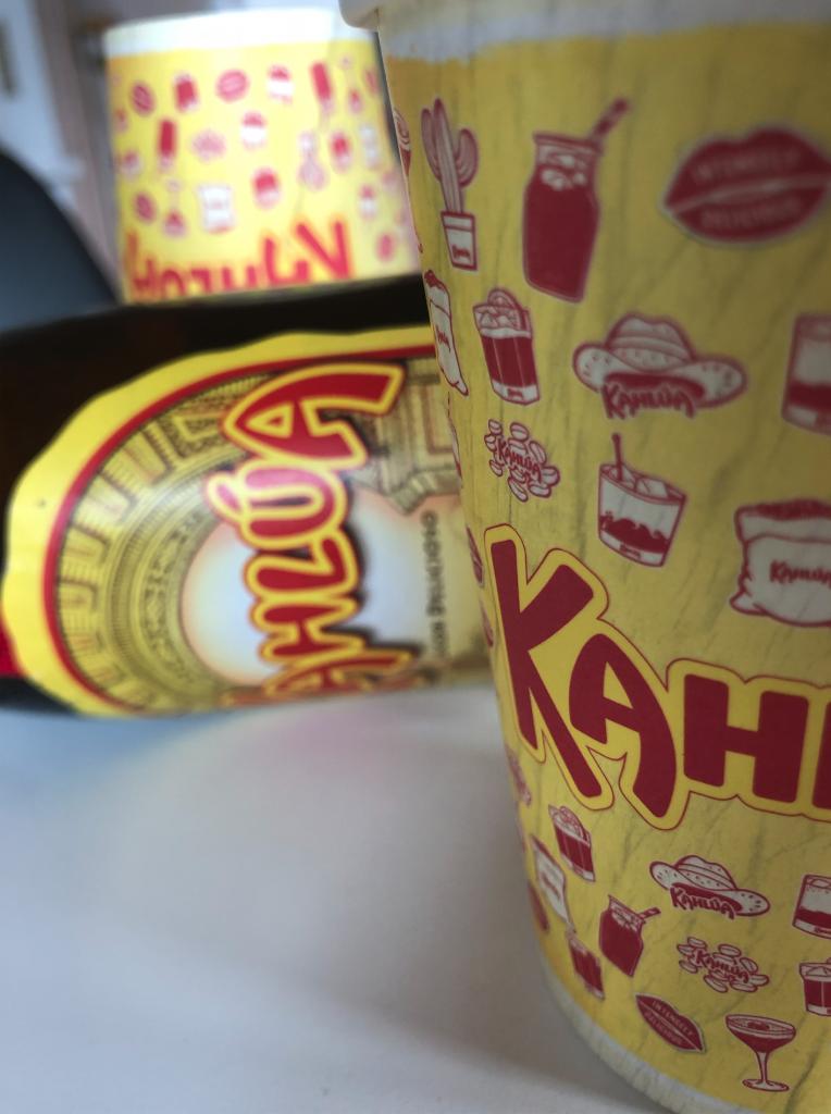 Kahlua Paper cups