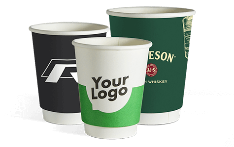 Click and go to the product site for double wall paper cups with your logo.